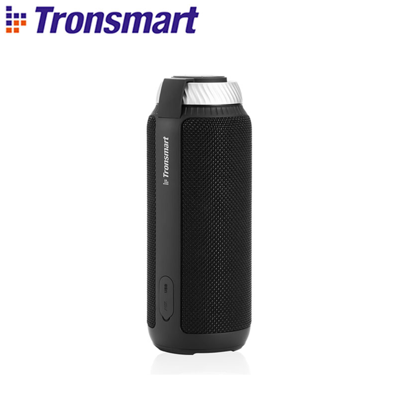 [Shipping from Russia,Poland] Tronsmart T6 Bluetooth Speaker 25W Portable Speakers Soundbar Deep Bass Columns with 360 Sound