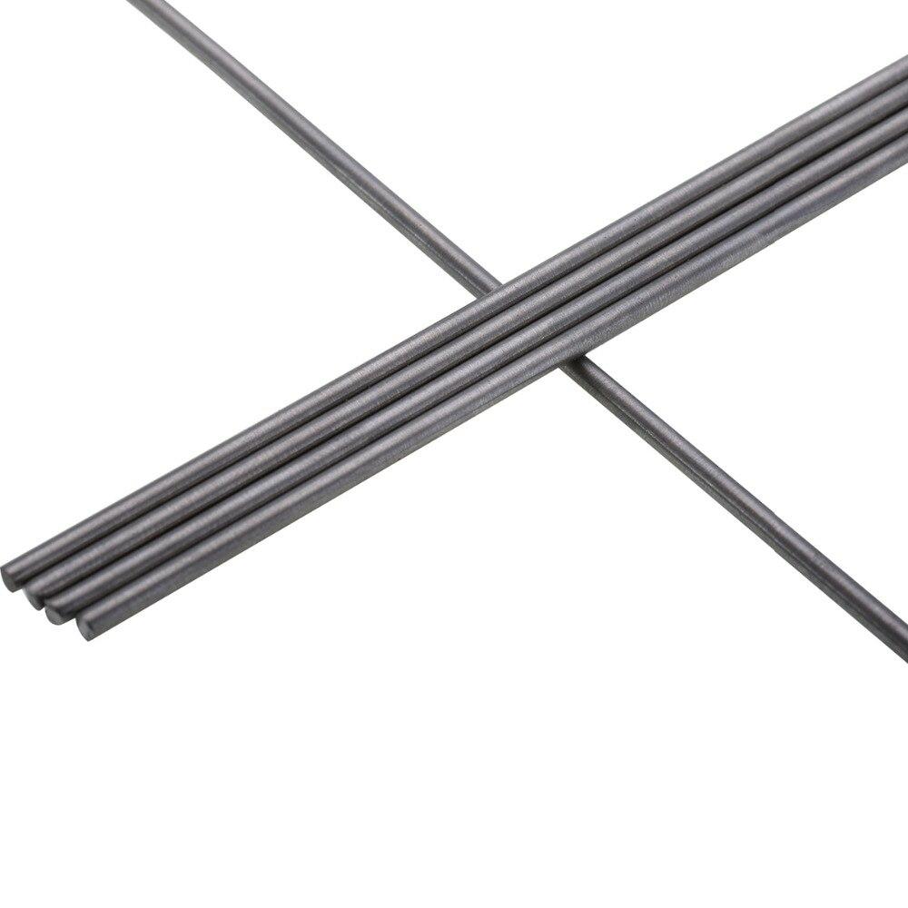 5pcs New Titanium Rod Ti Grade 5 GR5 Titanium Rods Stick Bar Shaft For Industry Tool 3mm*25cm
