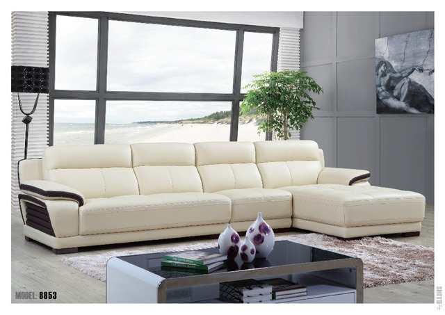 Aliexpress.com : Buy 2016 Foshan sofa white color L shape