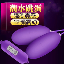 USB power supply, tide jump egg, female vibrating double egg comfort device, adult sex products.