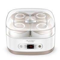 Автоматическая Натто ферментации контейнеры для йогурта ферментер Йогурт maker машина керамика медведь кухонные приборы Электрический