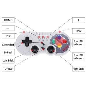 Image 4 - 무선 컨트롤러 닌텐도 스위치 프로 블루투스 게임 패드 게임 조이스틱 호환 닌텐도 스위치 윈도우 PC 안드로이드 전화