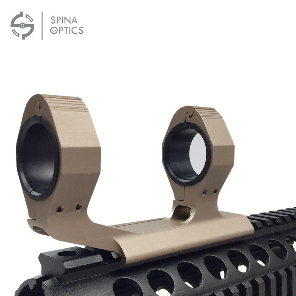 SPINA 25.4mm 30mm anneaux Cantilevel portée montage double anneau optique Picatinny monture 2