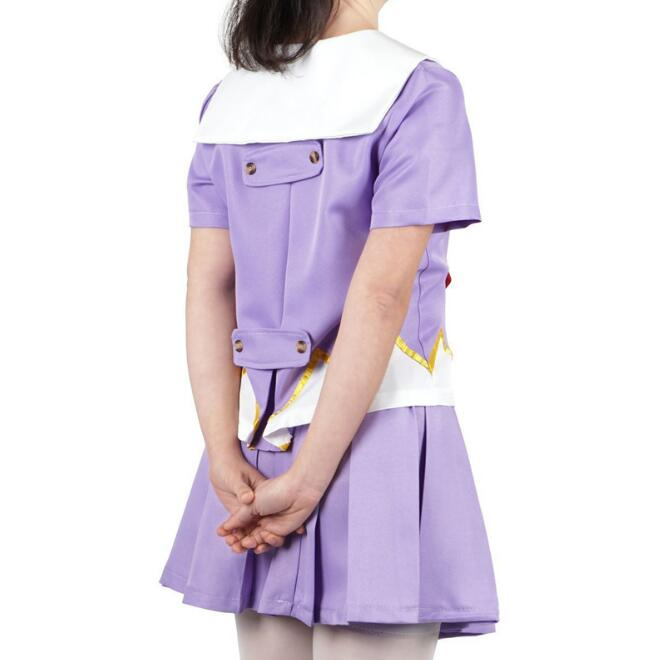 Women 39 s Anime Future Diary Cosplay Costumes Female Mirai Nikki Yuno Gasai Costume Women Halloween Party School Uniform Dress