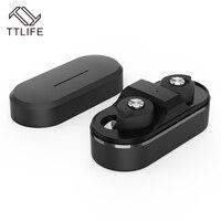 TTLIFE Mini Twins True Wireless Bluetooth Earphones CSR 4 1 Handsfree Earbuds TWS Bluetooth Headset With