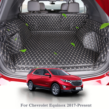 купить For Chevrolet Equinox 2017-Present Car Boot Mat Rear Trunk Liner Cargo Floor Carpet Tray Protector Internal Accessories Mats по цене 7919.11 рублей