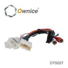 Разъем ISO кабель для toyota серии используется в Ownice Автомобильная развлекательная система, просто подходит для Ownice DVD