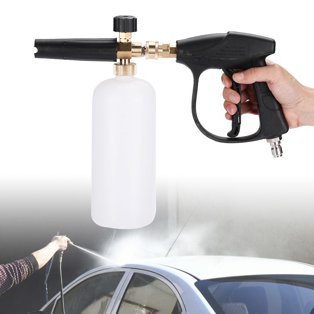 Foam Gun Washing Gun Foam Spray Gun High Pressure Cleaning Convenient Nozzle Practical Soap White
