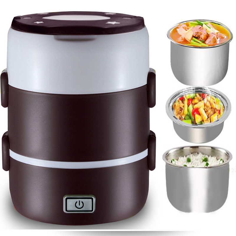 Portable Food Warmer Box ~ New portable electric heated compact food warmer