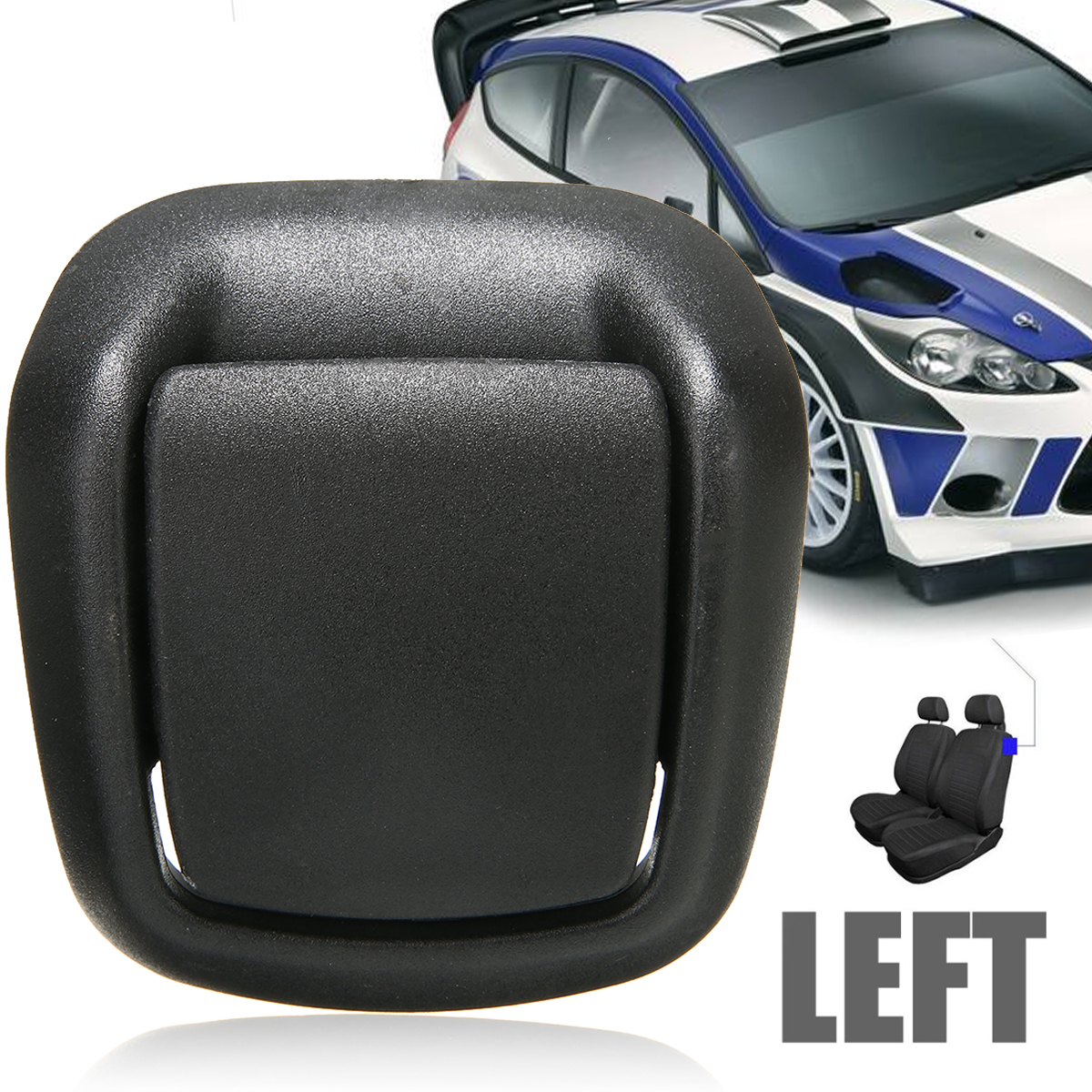 For Ford 1pc Front Left Side Seat Tilt Handle Plastic 1417521 Support Fiesta MK6 VI 3 Door 02-08