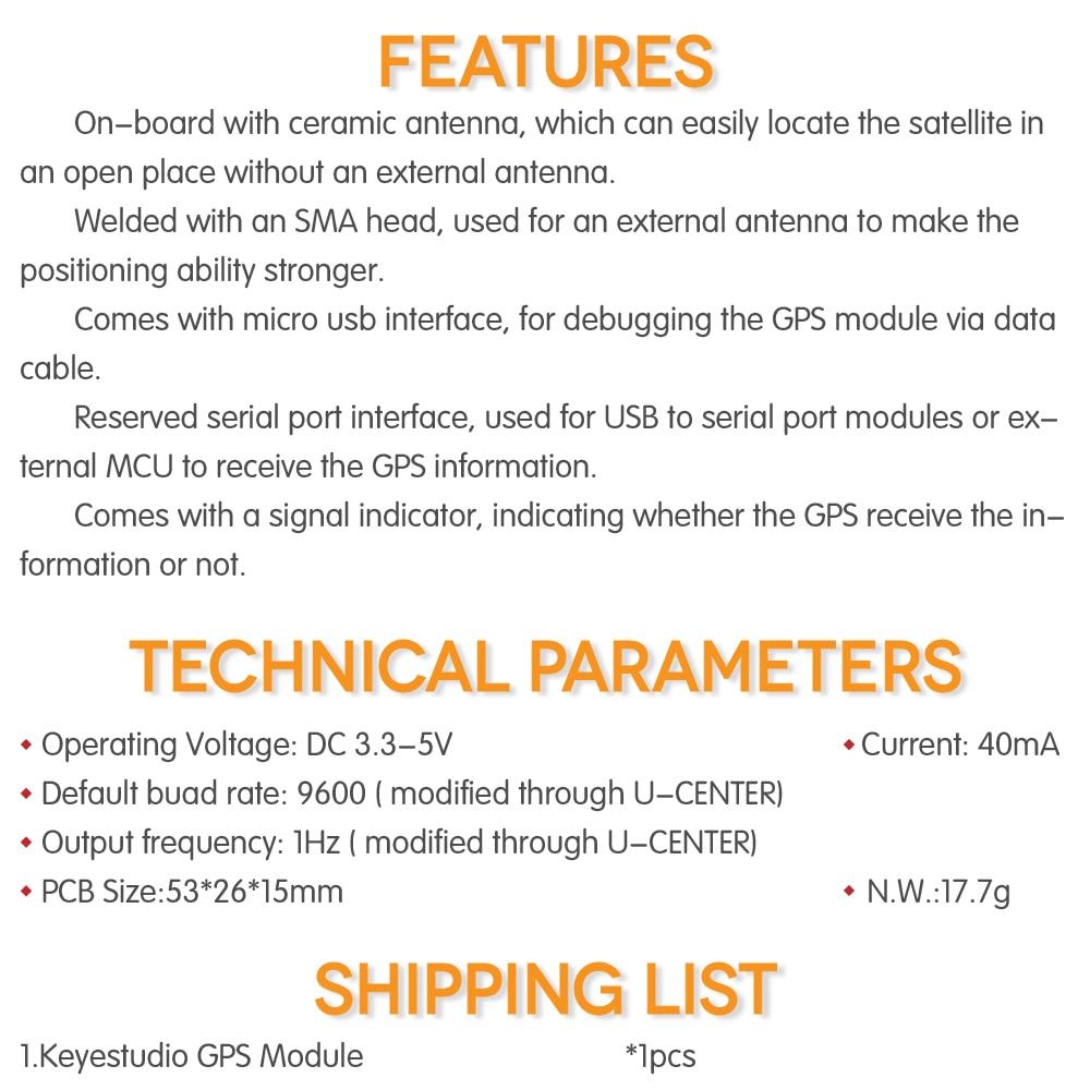 KS0319 Keyestudio GPS (6)