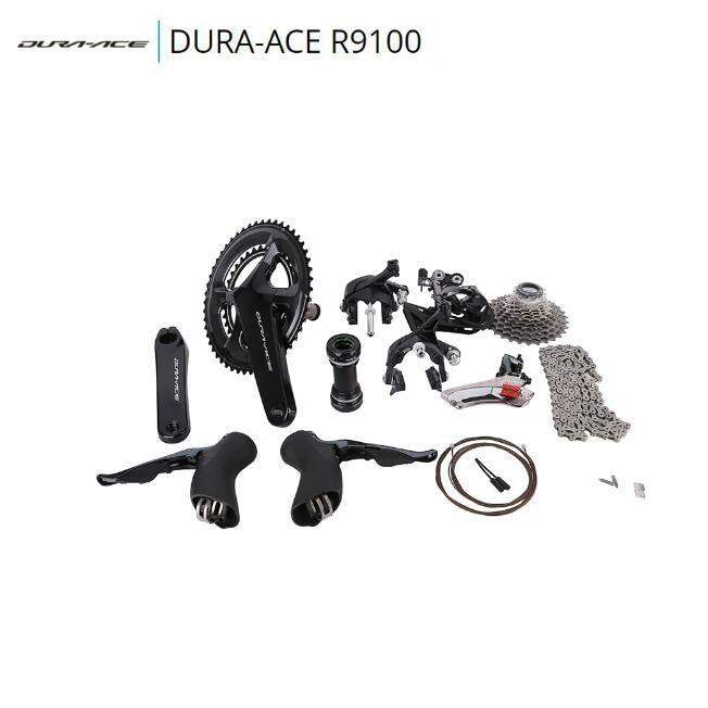SHIMANO 2017 DURA ACE 9100 R9100 road bike bicycle groupset kit кассета shimano dura ace 11 30 11 ск