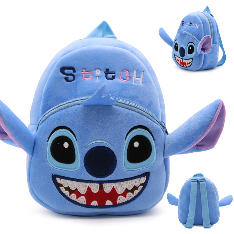 US $4.46 10% OFF|Cute Baby school bag Stitch cartoon plush backpack children schoolbag for Kindergarten boy girl student mini bags-in School Bags from Luggage & Bags on Aliexpress.com | Alibaba Group