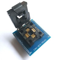 TQFP44 QFP44 PQFP44 TO DIP40 Adapter Socket Support MPU 51 IC CHIP PROGRAMMER SOCKET