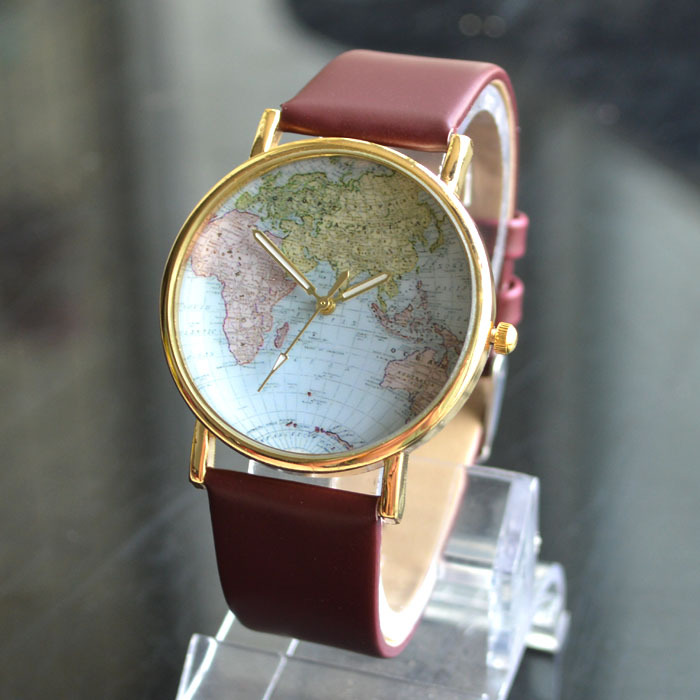 Aliexpress buy hot fashion world map women dress watch aliexpress buy hot fashion world map women dress watch quartz casual wristwatches ladies rhinestone hours new 2016 from reliable watch live tv free sciox Choice Image