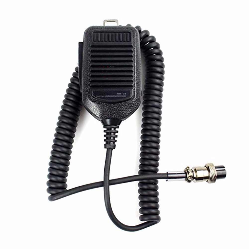 HM-36 ручной Динамик Mic радио микрофон для icom-радио IC-718 IC-78 IC-765 IC-761 IC-7200 IC-7600