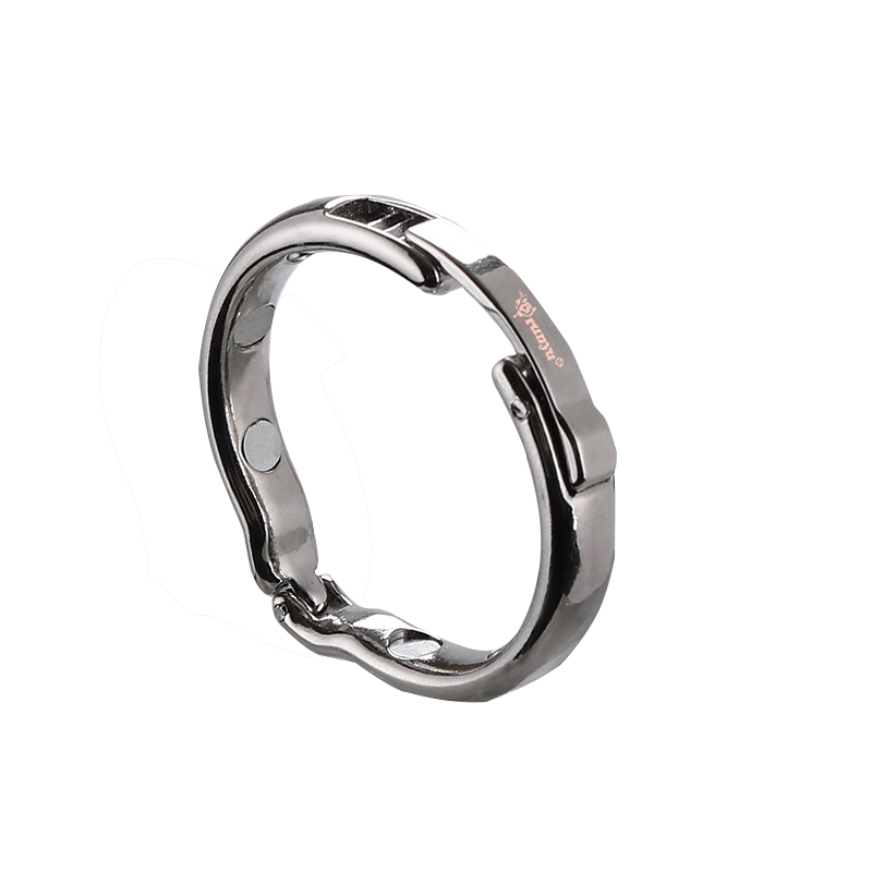 New Penisring cockring foreskin Magnetic physiotherapy metal V type Circumcision erection <font><b>cock</b></font> <font><b>Ring</b></font> <font><b>Sex</b></font> <font><b>Toys</b></font> for men glans <font><b>ring</b></font> image