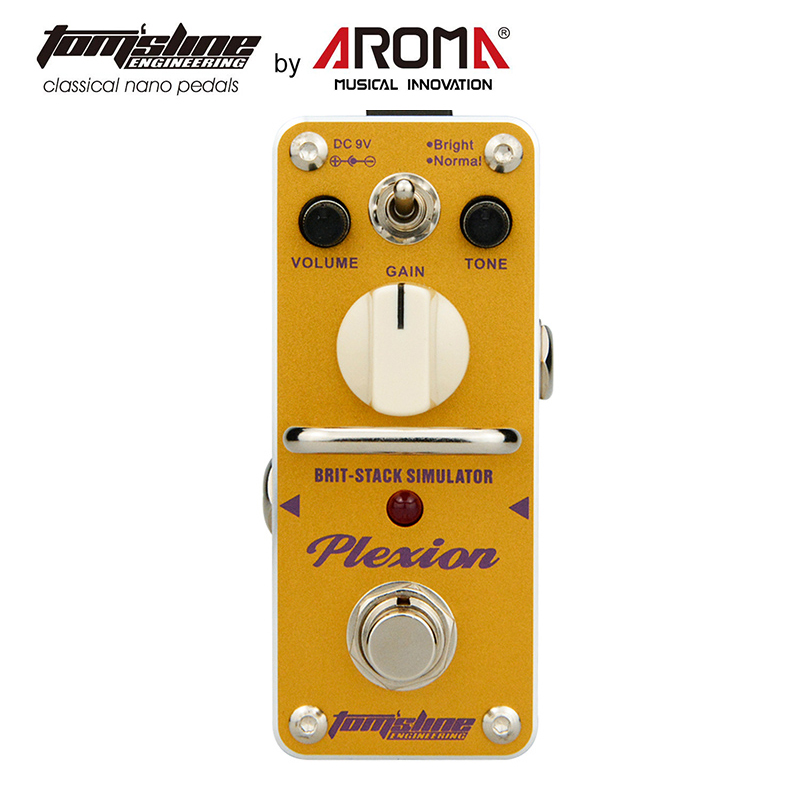 Classic British Style Distortion Pedal Guitar Effect Based On 70-80s Marshall Amp Tone 2 Modes Bright Normal overdrive pedal guitar effect dumbler based on the tone of legendary dumble amp smooth and dynamic sound