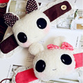 1 PC Panda Ou Gatos Ou Coelho Boneca de Pelúcia Cortina Clipe cortina de Renda Cortina Fivela 25 cm Botão Alça de Brinquedos dos desenhos animados Decoração Do Casamento