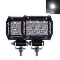 Eyourlife 2 Pieces/Paar 3,7 ''18 Watt Led Treibendes Licht Anhänger Led-leuchten Flutstrahl IP68 Führte Arbeitslicht für motorrad SUV Traktor
