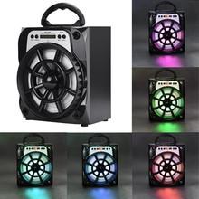 Hot sale Mini Portable LED Bluetooth Speaker Wireless Bass For Smartphone Tablet PC 18Jan17