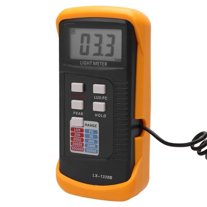 Digital Luminometer UV Radiometer Multifunctional Light Meter Photometer Eletric Tools Mini Light Meter 3 1/2 digit LCD display 1 2 lcd 2 digit clip on red wine digital thermometer black 2 x lr44