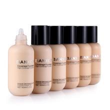 60 мл матовый стойкий полный консилер основа макияж, жидкая кремовая натуральная основа макияж
