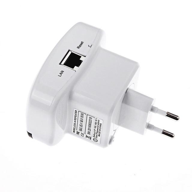 EU/US/UK/AK Plug 300m Far 802.11N/B/G Wifi Repeater Wireless-N AP Router Range 300Mbps Signal Extender Booster