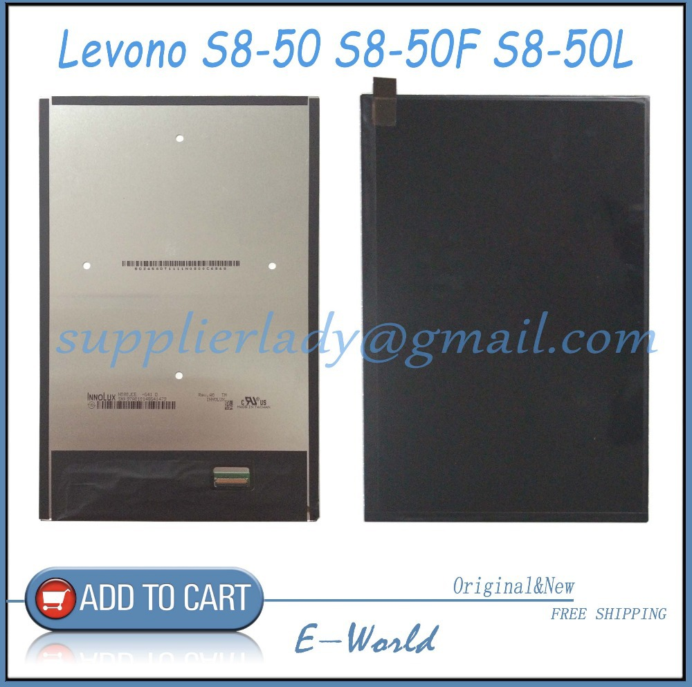 Original and New LCD Screen For Levono Tab 8 S8-50 S8-50F S8-50L S8-50LC Tablet PC LCD Repair Replacement Part Free Shipping аккумулятор 4parts lpb x401 для asus x301 x401 x501 series 10 8v 4400mah аналог pn a31 x401 a32 x401 a41 x401 a42 x401