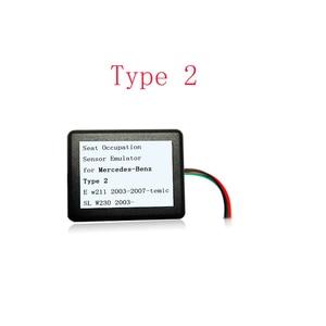 Эмулятор MB SRS Тип 2 для Mercedes benz E W211 SL W230 SLK W171 эмулятор сиденья Подушка сброса инструмент