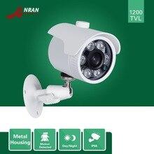 ANRAN CCTV HD 1200TVL 1/2.5 SONY CMOS IMX138 Sensor Outdoor Waterproof 6 IR IR-Cut Day Night Vision Security Camera