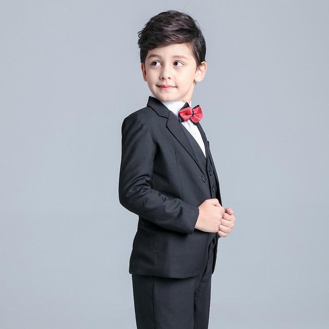 16ffd9503ea61 New Fashion Boys Kids Blazers Suits Boy Suit for Weddings Children Formal  Wedding Boy Suits Kids