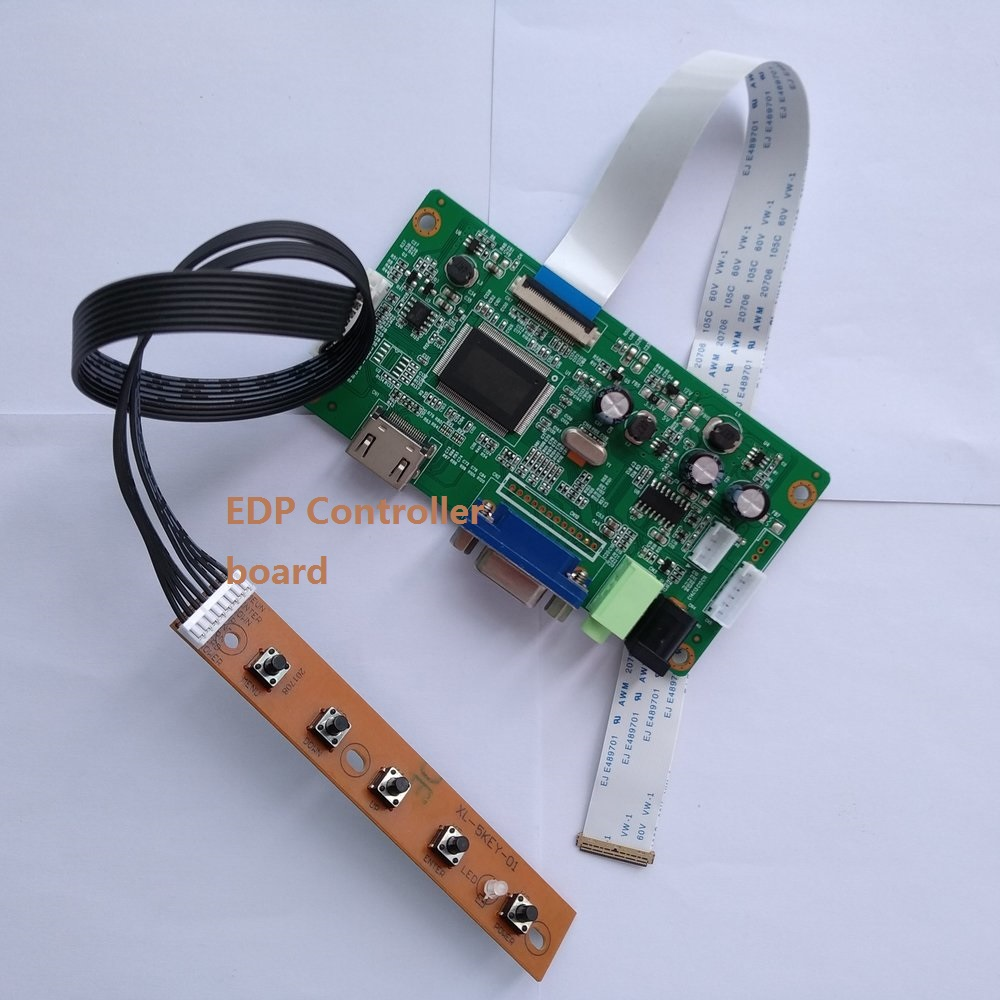 For B140XTN02.A Controller Board LCD DIY LED EDP 1366×768 Monitor DRIVER 14
