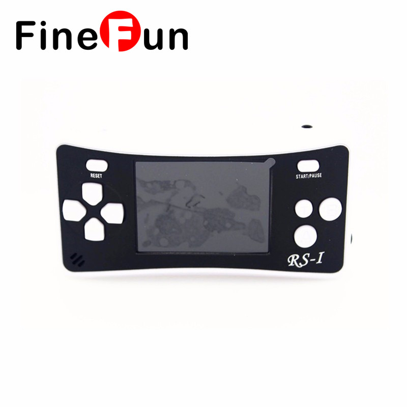 2016 RS-1 2.5 inch LCD 76 Games Inside Portable Handheld Video Game Player Console 8bit NES Games Kids Toys Gift Free Shipping