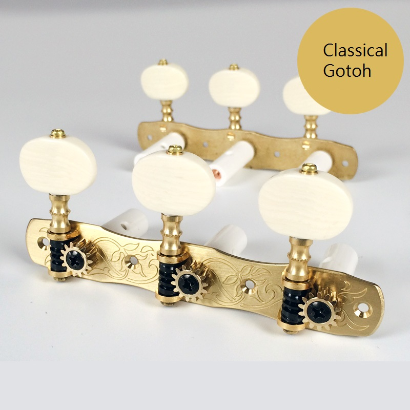Classical Gotoh Tuner 35G-1800-2M for Classical Guitar Lyre Machine Heads