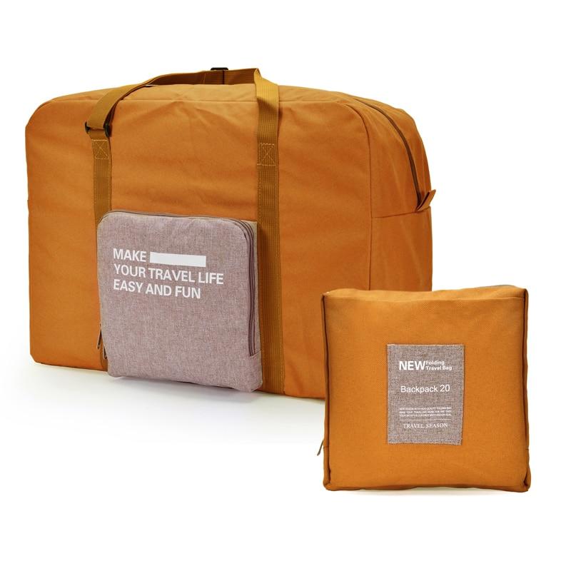 8e5a2110e IUX Women Folding Travel Bag Unisex Luggage Travel Handbags WaterProof  Travel Bag Large Capacity Bag Women Nylon Bags Bolsas