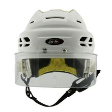 2017 Fashion New Arrival Ice Hockey Helmet With Anti-scratch Anti-fog Visor Cover Indoor Hockedy Equipment Colorful Mask