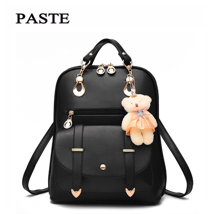 2017 New Fashion Brand High Quality Women backpack female spring and summer new student backpack large
