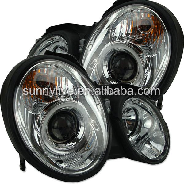 For mercedes benz clk200 230 280 320 front light silver in for Mercedes benz srs light