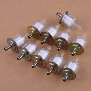 Image 1 - CITALL 10 stücke/Set 5/16 zoll 8mm Benzin Kraftstoff Linie Filter fit für Auto Boot Traktor Dirt Bike ATV Motorrad Zubehör