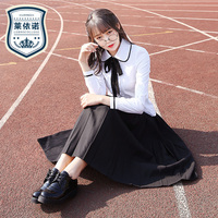 British School Students Wear Long Sleeved Uniforms Spring Japanese High Quality Sailor Suit Skirt Korean Girl