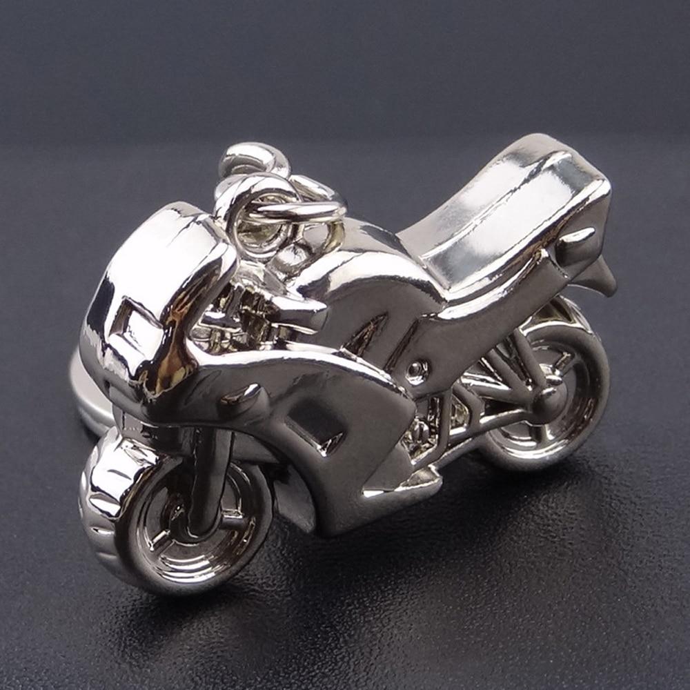 Fine Keychain Keyring 3d Metal Motorcycle Model Car Key Ring For Buick Chevrolet Dodge Honda Infiniti Kia Nissan Porsche Key Chain Interior Accessories
