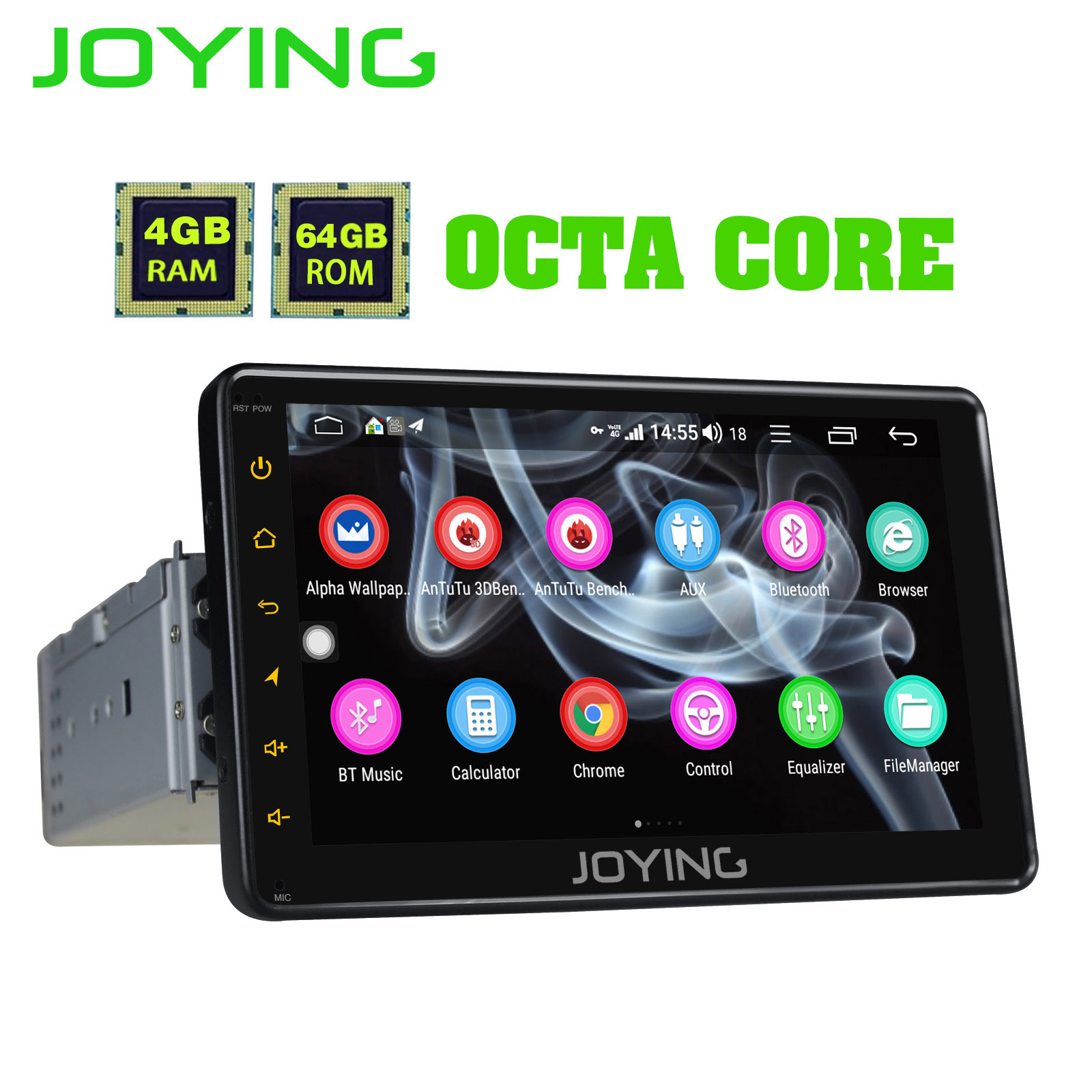 US $321 04 29% OFF|JOYING 1 DIN Android 8 1 Universal 7