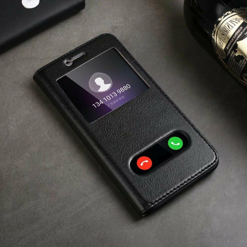 Чехол из натуральной кожи с откидной крышкой для Huawei Honor 9, чехол horor 10 с окошком, задняя крышка 9 lite, сумки для телефона, роскошный фирменный ди...