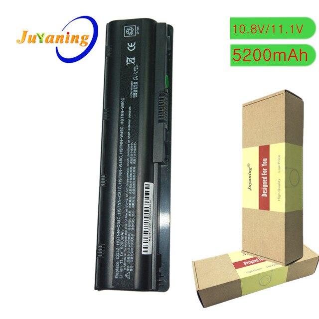 Batería de ordenador portátil para HP Pavilion DM4 DM4T DV3 G4 G6 G7 G62 G62T G72 MU06 HSTNN UBOW HSTNN UB1G Presario CQ42 CQ56 CQ62 CQ72