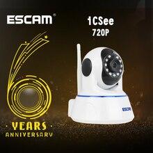 Escam QF002 Mini WiFi IP Camera HD 720P cctv Camera Systeem P2P IR Cut Two Way Audio Night vision