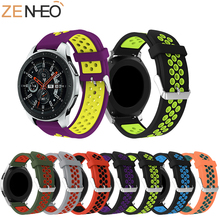 Sport Silicone 20mm Watchband For Samsung Gear S2 Sport Replacement Bracelet Band Strap for Samsung Galaxy 42mm Band Wristbands 20mm width silicone strap for samsung galaxy watch 42mm band for samsung gear sport gear s2 classic sm r7320 silicone watchband