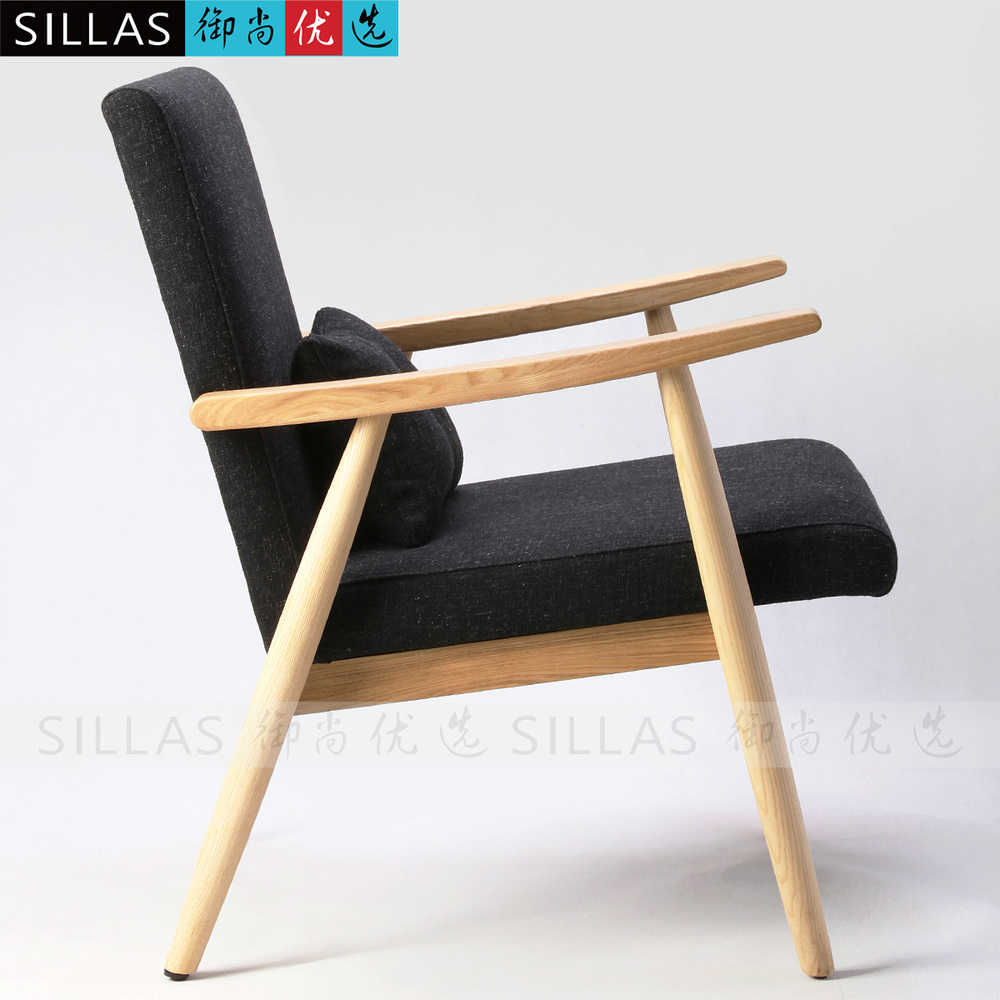 Danish Armchair Chair Ash Casual Living Room Sofa Stylish Minimalist  Scandinavian Style Cafe Furniture In Restaurant Chairs From Furniture On  Aliexpress.com ...