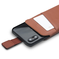 QIALINO Bag Case For Iphone X Genuine Leather Cover For IPhone X 5 8 Wallet Pouch