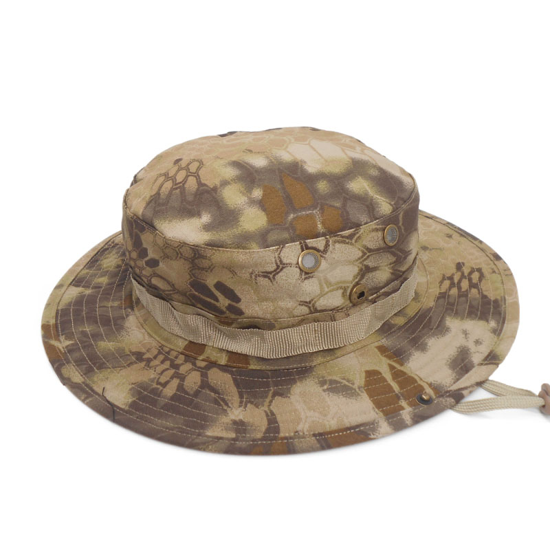 575c8289a Multicam Nepalese Boonie Hats Tactical Airsoft Sniper Camouflage Tree  Bucket Cap Accessories Military Army American Military Men
